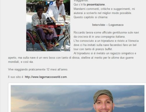 TripLife 1.0 – Interviste – Riccardo Carrieri