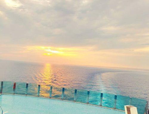 Sailing away  at sunset •••#medsea #marseille #infinitypool #sailor #chillout #cruising #cruise #crew # #travel #traveling #traveler #instatravel #instapassport #instatraveling #travelgram #travelingram #igtravel #travelblog #sea #travelstoke