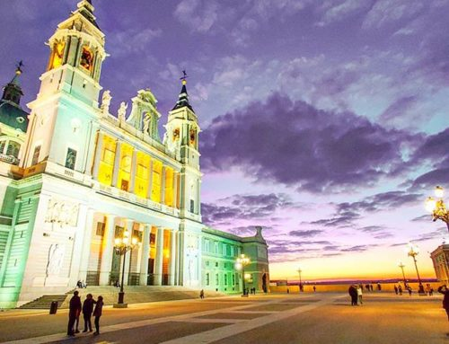 Just another stunning sunset, Hola Madrid! ‍♂️🤙 #purple #cathedral #madrid #traveladdict #traveller #travelingram #traveltheworld #travelpics #travelling #sunset #travellife #travel #traveler #travelphoto #travels #traveldeeper #travelgram #travelholic #travelphotography #travelblogger #traveling #travelstoke #sunset_vision #prilaga #travelawesome #traveldiaries #postcard